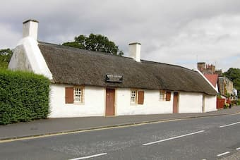 Birthplace of Robert Burns in Ayr