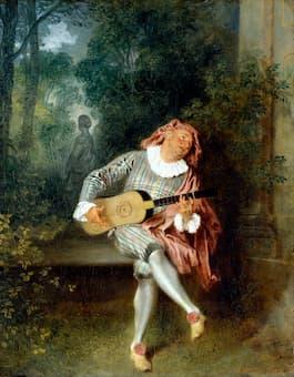 Antoine Watteau: Mezzetin