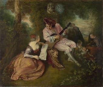 Antoine Watteau: The Love Song