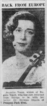 Jeannette Ysaÿe