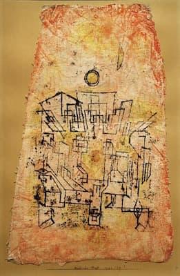 Paul Klee: Arab Village (1923)