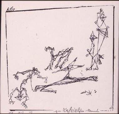 Paul Klee: An Eerie Moment (1912)