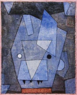 Paul Klee: Little Blue Devil (1933)