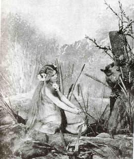 Růžena Maturová as the first Rusalka