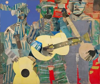 Art and Music: Romare Bearden and Music in Collage