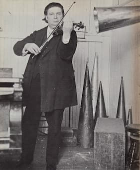 Ysaÿe's recording session, 1912