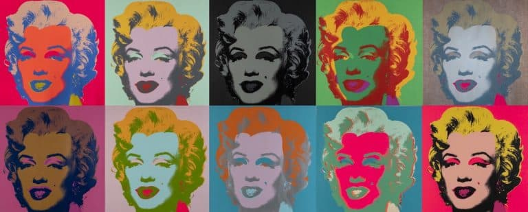 Untitled from the series Marilyn Monroe (1967) (MoMA)