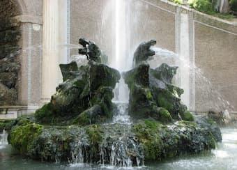 fountains at villa d'este