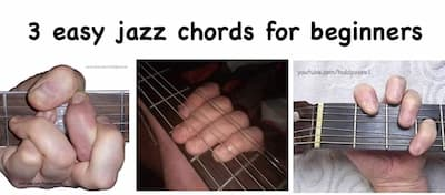 Three Easy Jazz Chords for Beginners