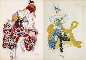 Leon Bakst: Sketch for Iskender and La Péri