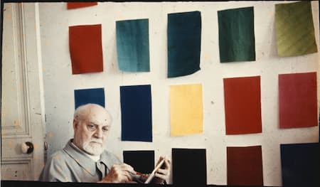 Henri Matisse and colour samples