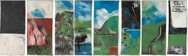 Musicians and Artists: Harris and McCahon