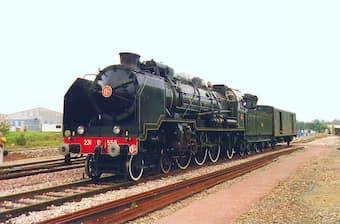 French Steam locomotive