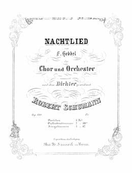 Schumann's Nachtlied