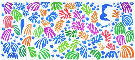Matisse: The Parakeet and the Mermaid (1952) (New York, MOMA)