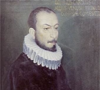 Our composer in an undated painting