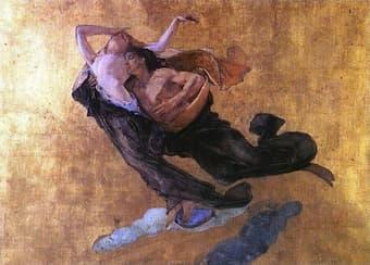 Mose Bianchi: Paolo and Francesca da Rimini