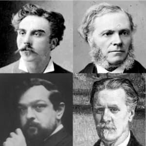 Société Nationale de Musique - Faure, Franck, D'Indy, Debussy