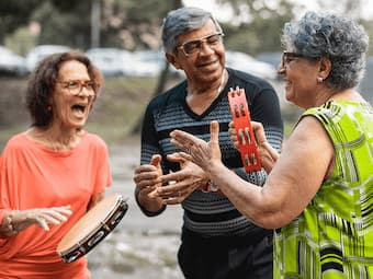 New research suggests making music actively may improve cognitive impairment