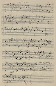 Goldberg Variations - Aria 1st edition