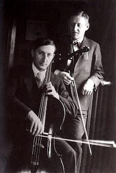 Pál Hermann with Zoltán Székely