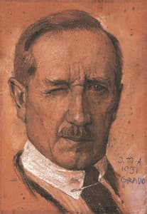 Auchtentaller: Self-portrait (1931)