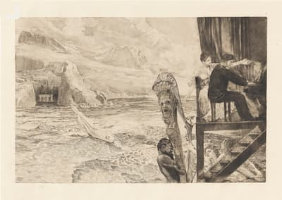 Max Klinger / Brahms: Brahmsphantasie