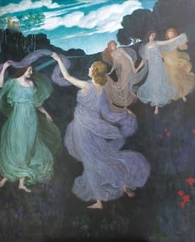 Auchtentaller: Elfenreigen (nach Beethovens Pastorale-Symphony 1. Satz)