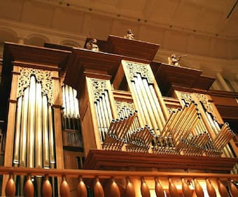 Organ in the Salamanca Hall