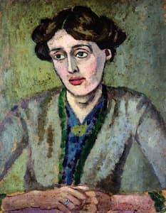 Virginia Woolf by Roger Fry, 1917