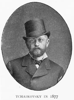 Tchaikovsky in 1877