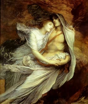 George Frederic Watts: Paolo and Francesca