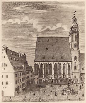 Saint Thomas Church in Leipzig