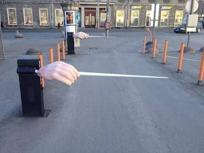 Here's the Entrance to the Car Park of Estonian State Operas…