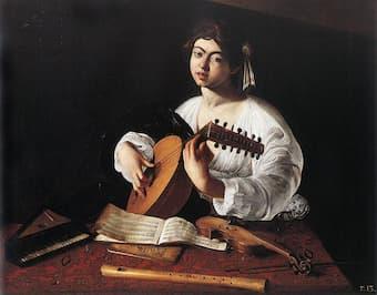 Caravaggio: The Lute Player, 1596