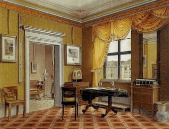 Biedermeier interior in Berlin