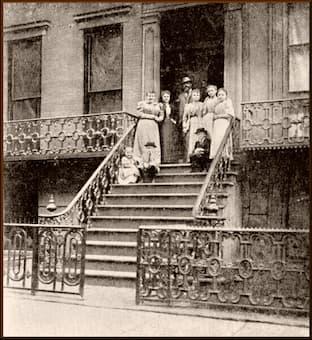 Antonín Dvořák and his family in New York