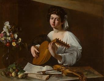 Caravaggio: The Lute Player (Hermitage version)