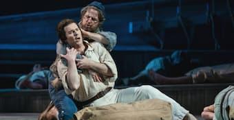 Joshua Hopkins - Billy Budd with Matthew Burns. Central City Opera, 2019