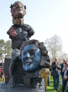 Homage to Beethoven sculpture created by Markus Lüpertz