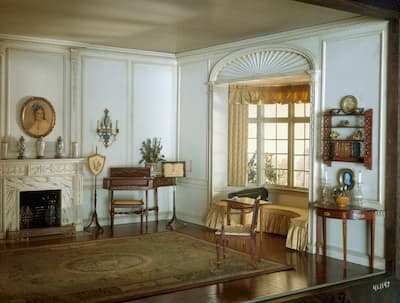 Thorne: English Drawing Room of the Georgian Period, c. 1800, ca. 1937 (Art Institute of Chicago)
