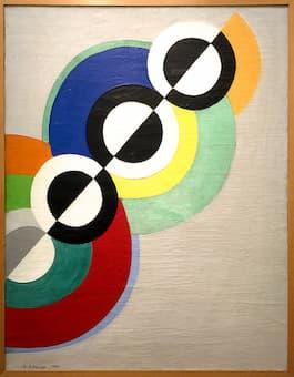 Delaunay: Rhythms, 1934