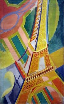 Delaunay: Tour Eiffel, 1926
