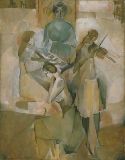Marcel Duchamp: Sonata, 1911 (Philadelphia Museum of Art)