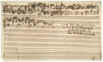 Bach's unfinished fugue in The Art of Fugue