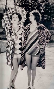 Bathing Suit designed by Sonia Delaunay, 1920s