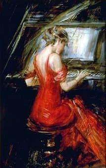 Giovanni Boldini: The Woman in Red