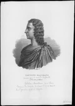 Caffarelli, castrato singer, the first Serse