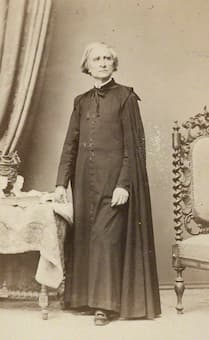 Canzi and Heller: Portrait of Liszt, 1860s