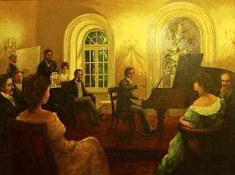 Chopin in the salon concert